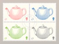Teapot Stamp