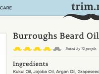 Beard Rating