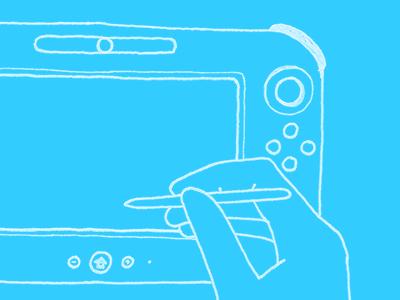 Wii U drawing