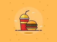 Burger Vektorkita