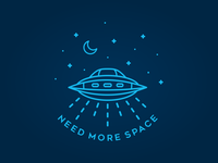 Need More Space Ufo