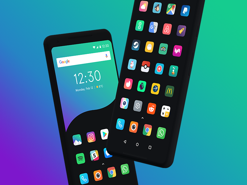 Borealis Icon Pack by Paul Mignon on Dribbble