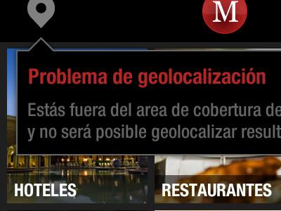 Marbella App Popup iphone app