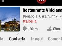 Marbella App Detail