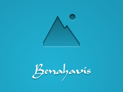 Benahavis App Bootscreen iphone app layout interface