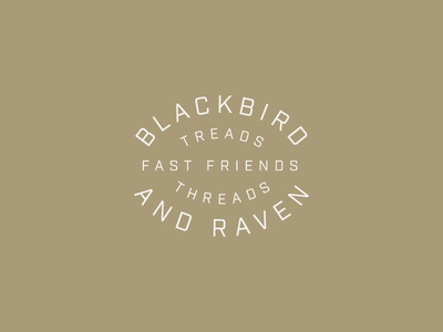 Blackbird & Raven Logo