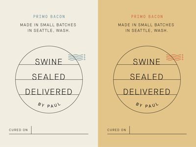 SwineSealedDelivered_01 small batch seattle bacon label packaging branding