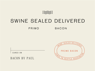 SwineSealedDelivered_02 identity small batch seattle bacon label packaging branding