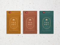 TeaboxPacketLineup tea cannabis packaging logo branding