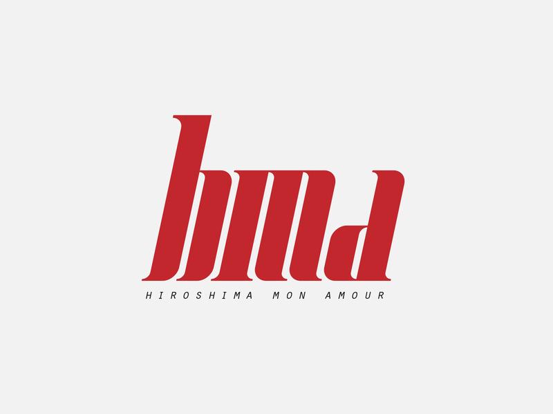 hma logotype hma a m h monogram illustrator typography logo design