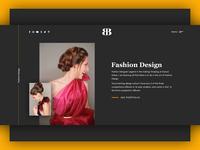 Fashion Designer Portfolio - WIP