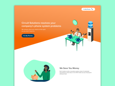 The Landing Page!!