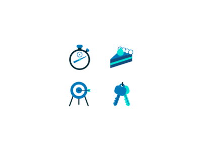 Mortgage Landing Page Icons