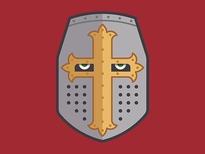 Knights Templar Helmut armor mask crusade medieval cross helmut knight