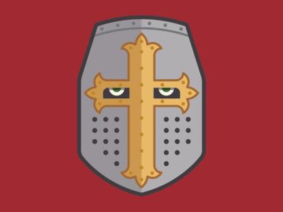 Knights Templar Helmut