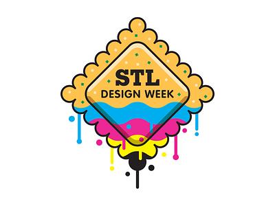 STL Design Week st. louis drip dipped cmyk week design ravioli toasted