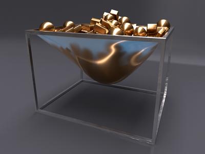 Gold Basket 1/3