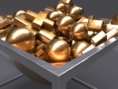Gold Basket 2/3