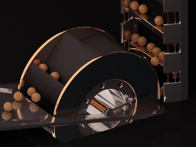 I love marbles! wood gold marbles art motiongraphics render artwork maxon redshift cinema4d c4d 3d