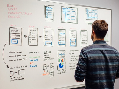 InVision interview invision whiteboard wireframe interview