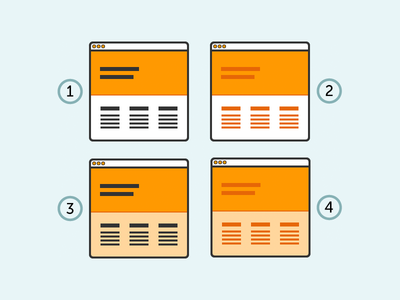 Choices, choices (WIP) icon illustrator browser wireframe