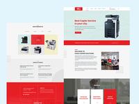 Copier solution company-Website