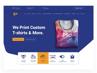 T shirts print- Website