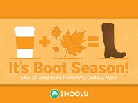 Boot Season Campaign - Shoolu.com