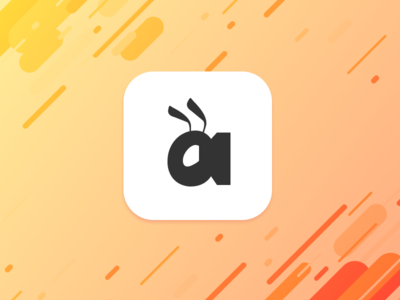 Daily UI Challenge #005 — App Icon ui brand insect bee ant gradient dailyuichallenge dailyui005 dailyui appicon icon app