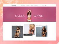 Luxury Lingerie E-Commerce