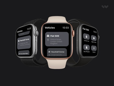 Watch app to manage your vehicles mobility mobile cars vehicles apple watch watch apple