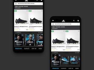 adidas Soccer - shoes finder design mobile finder shoes adidas