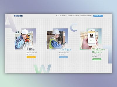 Trimble design web