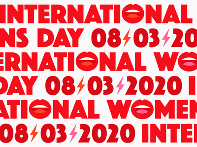 International Women's day girlpower mortani lips empowerment typography womens rights womens march womensday women 8th march