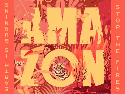 Stop the Amazon Fires saveamazonia actforamazonia