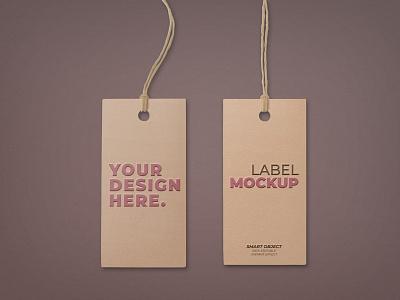 Free Label Tag Mockup PSD label mockup tag mockup product design free mockup mockup design psd mockup mockup psd mockup freebies