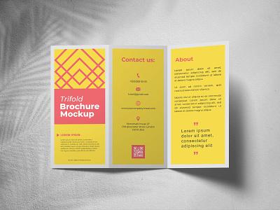 Free Trifold Brochure Mockup PSD brochure mockup free mockup product design mockup design psd mockup mockup psd mockup freebies