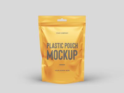 Free Plastic Pouch Mockup PSD pouch mockup product design free mockup mockup design psd mockup mockup psd mockup freebies