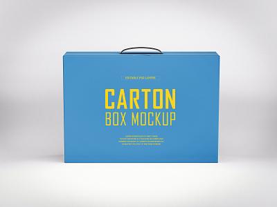 Free Carton Box Mockup PSD mockups carton box mockup box mockup product design free mockup mockup design psd mockup mockup psd mockup freebies