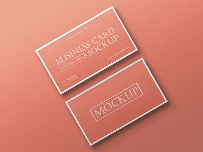 Free Elegant Business Card Mockup PSD business card mockup business card product design free mockup mockup design psd mockup mockup psd mockup freebies