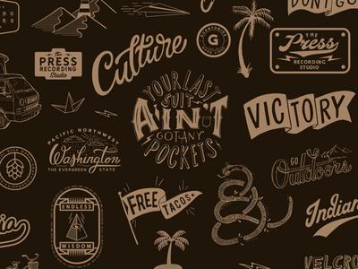 2018 Recapp oldschool graphics vintage typography lettering doodle drawing identity branding vectorart handlettering illustration vector graphicdesign design