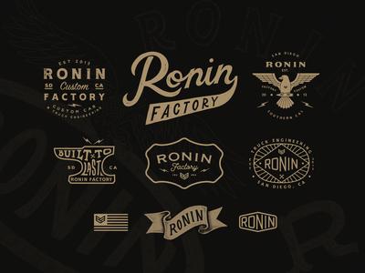 Ronin Factory Branding Work