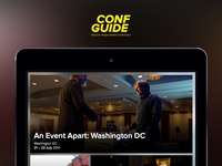 Conf Guide homescreen