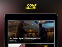 Conf Guide homescreen
