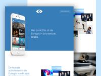 App marketing page