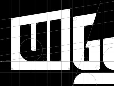 UI Guy Logotype Progress logo branding making of illustrator typography