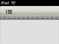 Potential Toolbar Design for iPad App