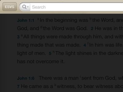 Accordance Ios Search View accordance interface ui interface design ios apple bible bible software