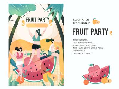 Midsummer Fruit Party