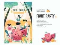 Midsummer Fruit Party